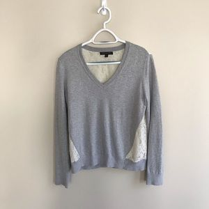 Banana Republic sweater with lace
